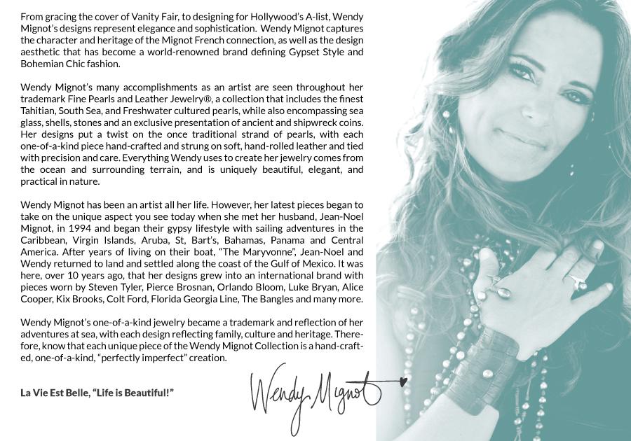 About Designer Wendy Mignot