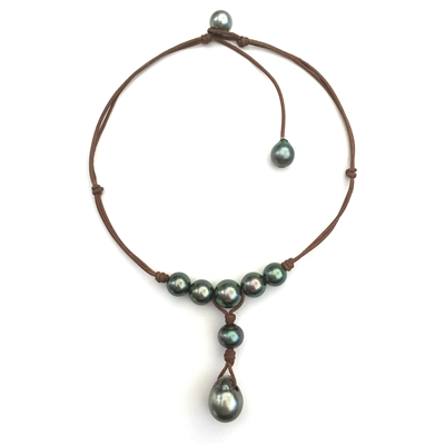 Wendy Mignot Watercolor Tahitian Necklace