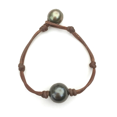 Fine Pearls And Leather Jewelry By Wendy Mignot